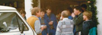 1991 Jubiläum. 25 Jahre Bischof-Heizung
