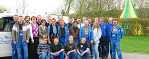 2011 Das Team wächst